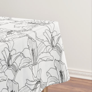 Tropical Outlines Tablecloth