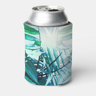 Tropical Palm Can Cooler