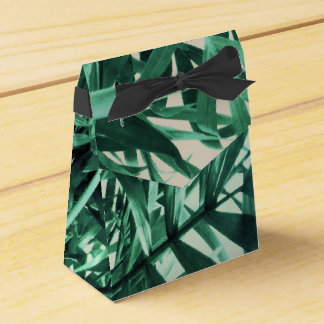 Tropical Palm Favour Box