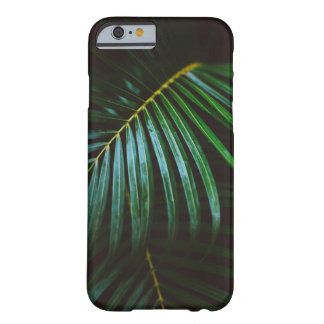 Tropical Palm Leaf Calming Green, Meditative Barely There iPhone 6 Case