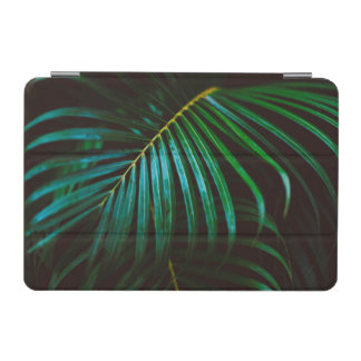 Tropical Palm Leaf Relaxing Green Calming iPad Mini Cover