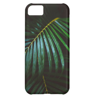 Tropical Palm Leaf Relaxing Green Calming iPhone 5C Case