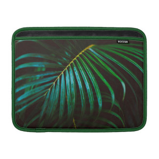 Tropical Palm Leaf Relaxing Green Calming Sleeve For MacBook Air