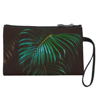 Tropical Palm Leaf Relaxing Green Meditative Wristlet