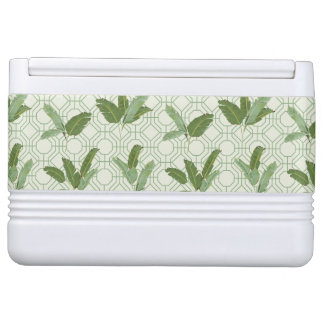 Tropical Palm Leaves Cooler
