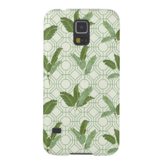 Tropical Palm Leaves Galaxy S5 Cover