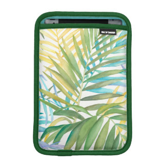Tropical Palm Leaves iPad Mini Sleeve