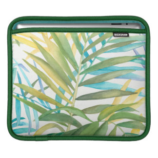 Tropical Palm Leaves iPad Sleeve