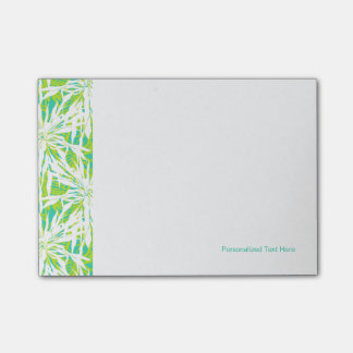 Tropical Palm Leaves Pattern Post-it Notes