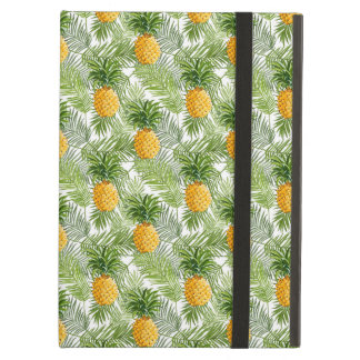 Tropical Palm Leaves & Pineapples Cover For iPad Air