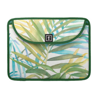 Tropical Palm Leaves Sleeve For MacBooks