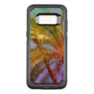 Tropical Palm Leaves Vintage OtterBox Commuter Samsung Galaxy S8 Case