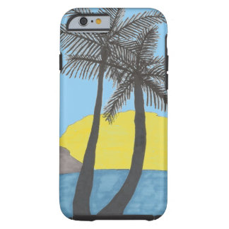 Tropical Palm Tree iPhone case