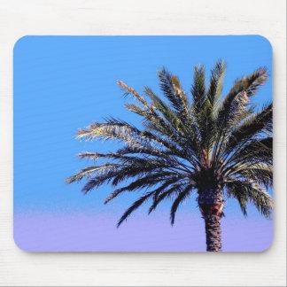 tropical palm tree mouse pad