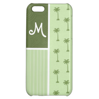 Tropical Palm Tree Pattern iPhone 5C Case