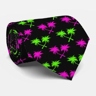 Tropical Palm Tree Pattern Tie