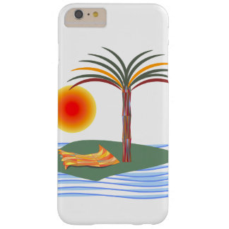 Tropical Palm Tree, Sun, Waves iPhone 6/6s Plus Barely There iPhone 6 Plus Case
