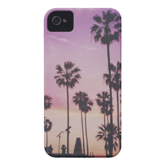 Tropical Palm Trees Miami Los Angeles Venice iPhone 4 Case-Mate Case