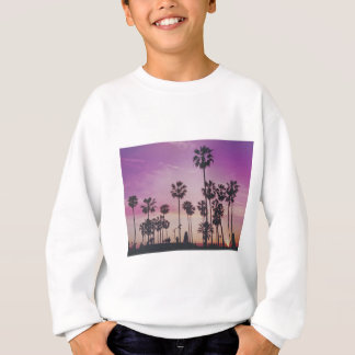 Tropical Palm Trees Miami Los Angeles Venice Sweatshirt