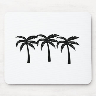 Tropical Palm Trees Mouse Pad
