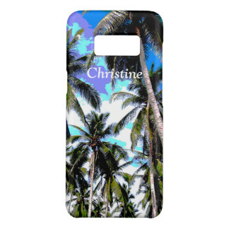 Tropical Palm Trees Personalised Case-Mate Samsung Galaxy S8 Case