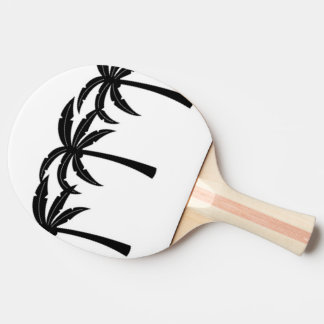 Tropical Palm Trees Ping Pong Paddle