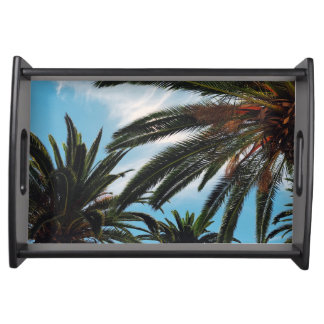 Tropical Palm Trees Serving Tray