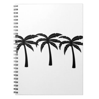 Tropical Palm Trees Spiral Notebook