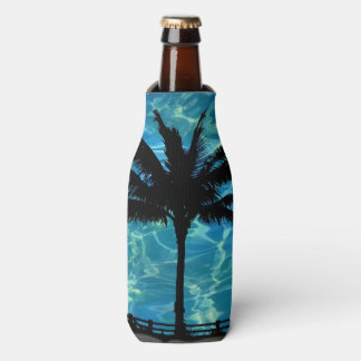 Tropical Palm Trees Summer Bottle Cooler