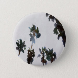 Tropical Palms 6 Cm Round Badge