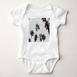 Tropical Palms Baby Bodysuit