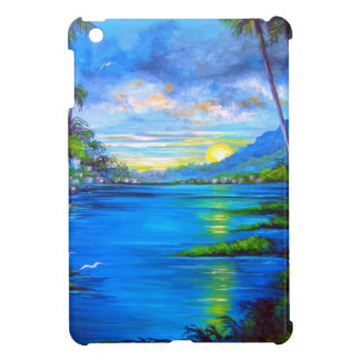 Tropical Palms Blue Case For The iPad Mini