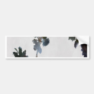 Tropical Palms Bumper Sticker