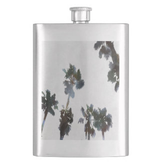 Tropical Palms Flask