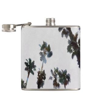 Tropical Palms Flasks