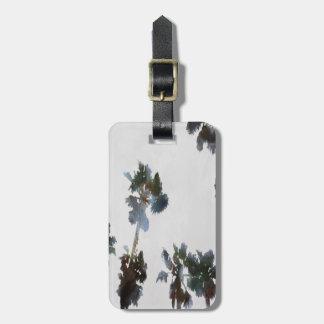 Tropical Palms Luggage Tag
