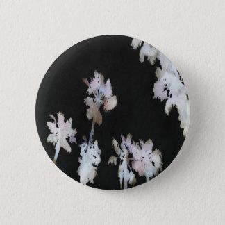 Tropical Palms Negative 6 Cm Round Badge