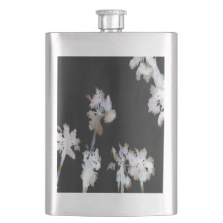 Tropical Palms Negative Flask