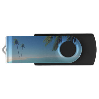 Tropical Palms USB Flash Drive