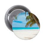 Tropical Paradise Beach Button