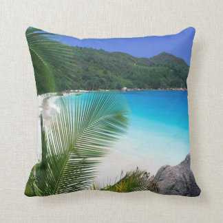 Tropical Paradise Beach Pillow
