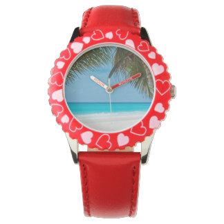 Tropical Paradise Beach Watches