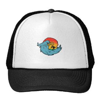 TROPICAL PARADISE TRUCKER HAT