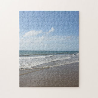 Tropical Paradise Caribbean Beach on Tobago Jigsaw Puzzle