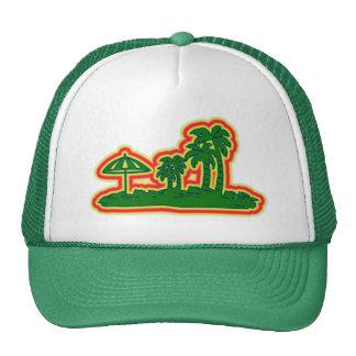 Tropical Paradise Mesh Hats