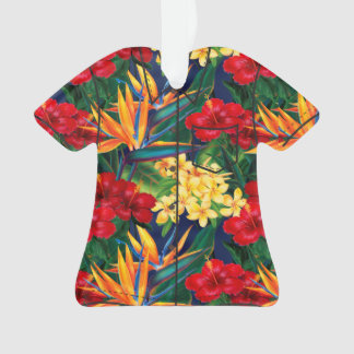 Tropical Paradise Hawaiian Floral Aloha Shirt