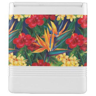 Tropical Paradise Hawaiian Floral Cooler