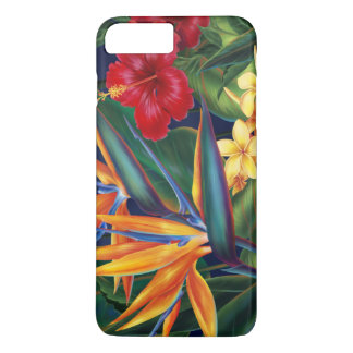 Tropical Paradise Hawaiian Floral iPhone 7 Plus Case