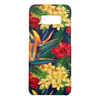 Tropical Paradise Hawaiian Floral Vertical Case-Mate Samsung Galaxy S8 Case