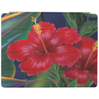 Tropical Paradise Hawaiian Hibiscus iPadSmartCover iPad Cover